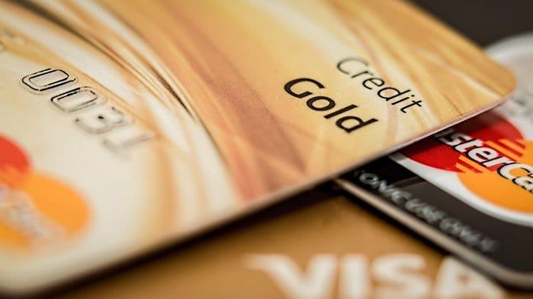 master card and visa credit cards